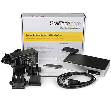 StarTech.com USB3VDOCK4DP pas cher