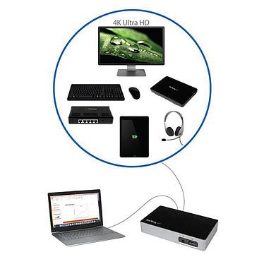 Avis StarTech.com USB3VDOCK4DP