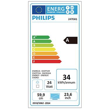 """Philips 23.6"""" LED - 247E6QDAD pas cher"""