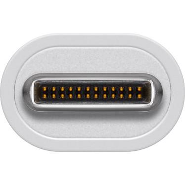 Avis Adaptateur USB 3.1 type C (USB-C) mâle vers Gigabit Ethernet RJ45 femelle (blanc)