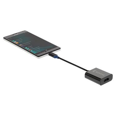 Adaptateur USB 3.1 type C vers HDMI (Noir) pas cher