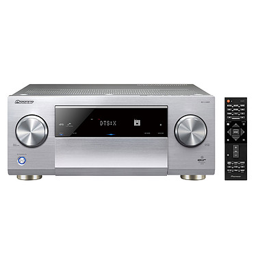 Pioneer SC-LX901 Argent Amplificateur AV 11.2 Direct Energy Class HD Classe D, Dolby Atmos, DTS:X, Upscaling Ultra HD 4K/60p, MCACC Pro, Air Studios, Bluetooth, Wi-Fi, Google Cast, AirPlay, HDMI