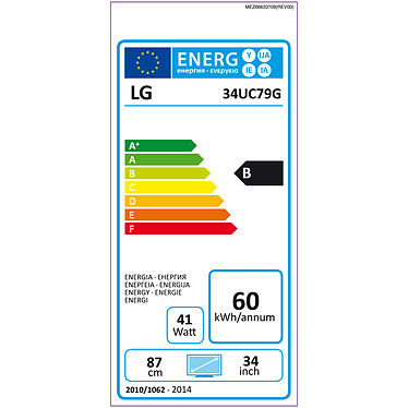 "LG 34"" LED 34UC79G-B pas cher"