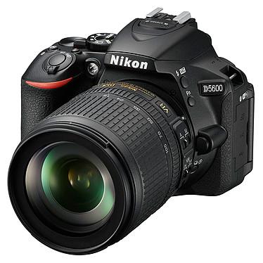 Nikon D5600 + AF-S DX NIKKOR 18-105mm ED VR Appareil photo 24.2 MP - Vidéo Full HD - Écran tactile - Wi-Fi - Bluetooth + AF-S DX NIKKOR 18-105mm F/3.5-5.6G ED VR
