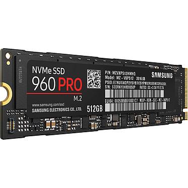 Avis Samsung SSD 960 PRO M.2 PCIe NVMe 512 Go