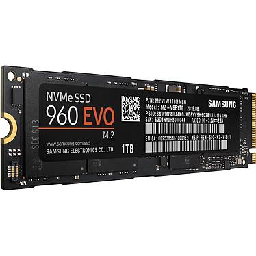 Avis Samsung SSD 960 EVO M.2 PCIe NVMe 1 To
