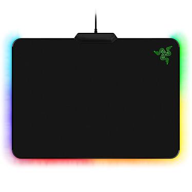 Razer Firefly Cloth Edition Tapis de souris en tissu avec rétro-éclairage multicolore personnalisable pour gamer