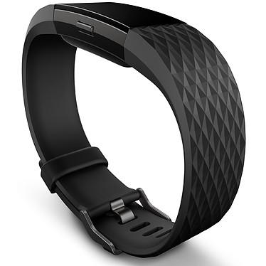 FitBit Charge 2 Noir Métal S Coach électronique sans fil résistant aux éclaboussures pour smartphone iOS & Android (Taille S)