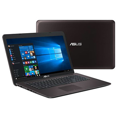 "ASUS P2730UA-TY388RB Intel Core i3-6006U 4 Go 500 Go 17.3"" LED HD+ Graveur DVD Wi-Fi AC/Bluetooth Webcam Windows 10 Professionnel 64 bits (Garantie constructeur 2 ans)"