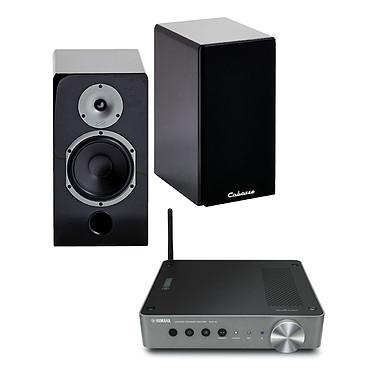 Yamaha MusicCast WXA-50 + Cabasse Antigua MT32 laquée noire