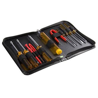 StarTech.com Kit de 11 outils pour PC  Kit de 11 outils pour PC avec boîte de transport en vinyle avec fermeture à glissière