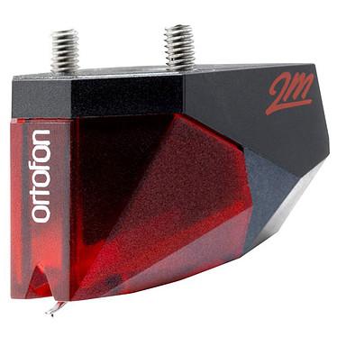 """Ortofon 2M Rojo Verso Célula magnética móvil, punta elíptica, montaje de 1/2"""", 20 Hz a 22 kHz con rosca integrada"""