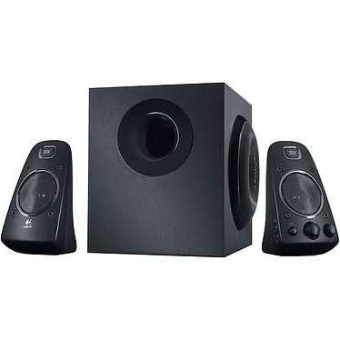 Logitech Speaker System Z623 Ensemble 2.1 - THX - 200 Watts - Jack 3.5 mm/RCA - compatible PS2 / PS3 / Xbox 360 / Wii