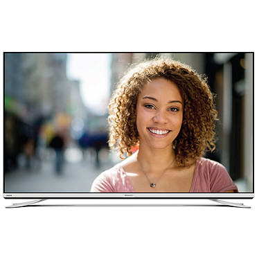 "Sharp LC-65XUF8772ES Téléviseur LED 4K 65"" (165 cm) - 3840 x 2160 pixels - Ultra HD - Wi-Fi - Bluetooth - DLNA - 800 Hz"