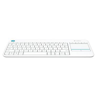 Avis Logitech Wireless Touch Keyboard K400 Plus Blanc