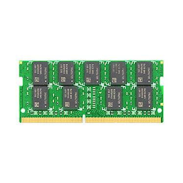 Synology 16 Go (1 x 16 Go) DDR4 ECC Un-buffered SO-DIMM 2133 MHz CL15 (D4ECSO-2400-16G) RAM DDR4 PC4-17000 ECC Un-buffered SO-DIMM