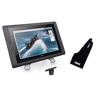 Wacom Cintiq 22HD + LDLC Artist x3 (S / M / L) Tablette graphique professionnelle (PC / MAC) + Trois gants - Tailles S / M / L