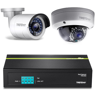 TRENDnet TV-IP321PI + TRENDnet TV-IP320PI + TRENDnet TPE-S50