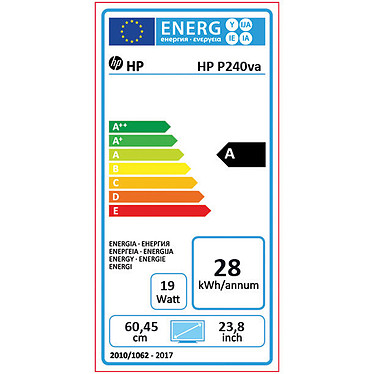 "HP 23.8"" LED - ProDisplay P240va (N3H14AT) pas cher"