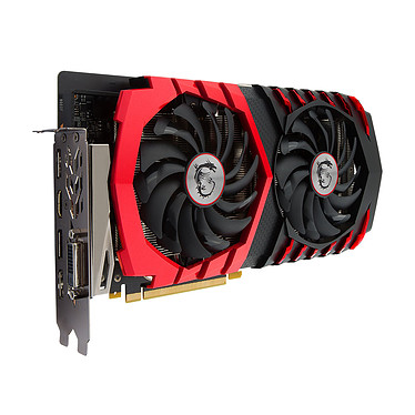 Avis MSI GeForce GTX 1060 GAMING X 6G + TILTeek FixCard