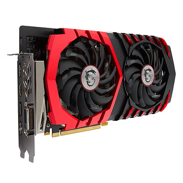 Avis MSI GeForce GTX 1060 GAMING X 3G + TILTeek FixCard