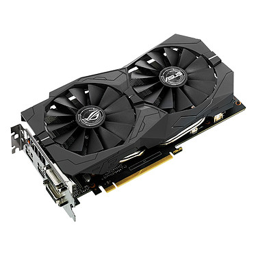 Avis ASUS GeForce GTX 1050 Ti - ROG STRIX-GTX1050TI-O4G-GAMING