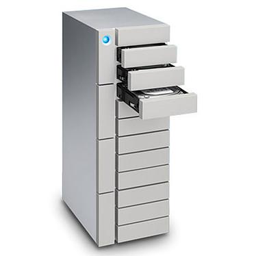 LaCie 12big Thunderbolt 3 72 To Système de stockage RAID professionnel haute performance à 12 disques sur ports Thunderbolt 3 - Inclus 5 ans de services Rescue (garantie LaCie 5 ans)