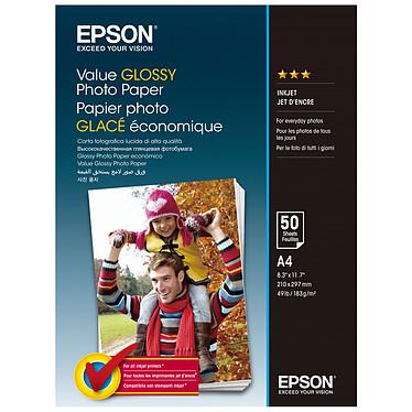 Epson Value Brillante A4 (C13S400036) Papel fotográfico brillante A4 (50 hojas)