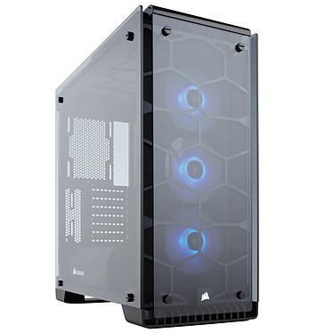 Corsair Crystal 570X RGB Boîtier Moyen Tour ATX avec fenêtre en verre trempé et LEDs RGB