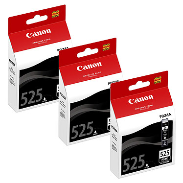 Canon PGI-525PGBK x3