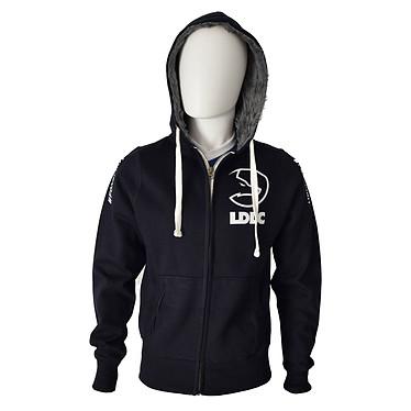 Team LDLC Hoodie - L Team LDLC chaqueta con capucha de algodón/poliéster - Talla L