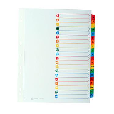 Intercalaires Format A4 + 20 touches alphabétiques