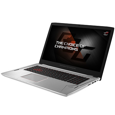 "ASUS STRIX G702VS-BA092T Intel Core i7-7700HQ 16 Go SSD 256 Go + HDD 1 To 17.3"" LED Full HD 120Hz NVIDIA GeForce GTX 1070 Wi-Fi AC/Bluetooth Webcam Windows 10 Famille 64 bits (garantie constructeur 2 ans)"