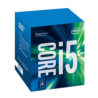 Intel Core i5-7400 (3.0 GHz) Processeur Quad Core Socket 1151 Cache L3 6 Mo Intel HD Graphics 630 0.014 micron (version boîte - garantie Intel 3 ans)