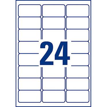 Avis Avery Etiquettes pour timbres à imprimer 63.5 x 33.9 mm x 240