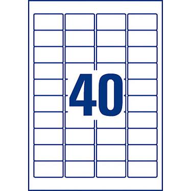 Avis Avery Etiquettes anti-effraction 45.7 x 25.4 mm x 800