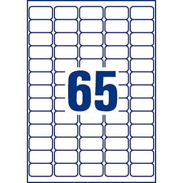 Avis Avery Mini-étiquettes autocollantes 38.1 x 21.2 mm x 780