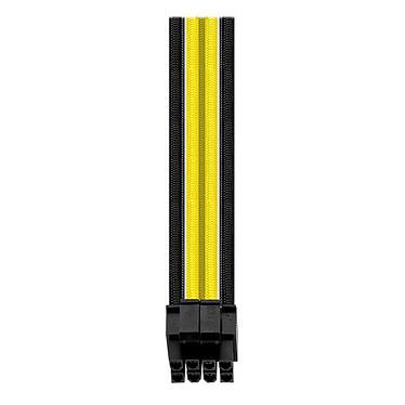 Avis Thermaltake TtMod Sleeve Cable (Extension Câble Tressé) - Jaune et Noir