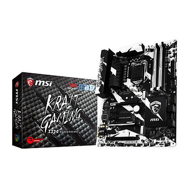 MSI Z270 KRAIT GAMING Placa madre Enchufe ATX 1151 Intel Z270 Express - 4x DDR4 - SATA 6Gb/s + M.2 - USB 3.1 - 3x PCI-Express 3.0 16x