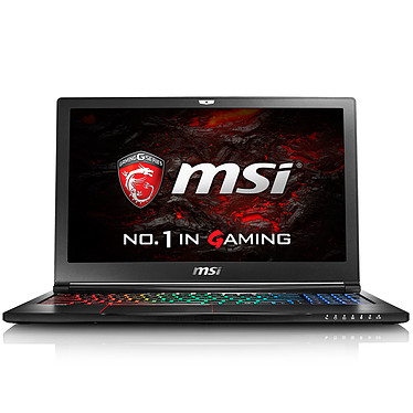 Avis MSI GS63 7RE-033FR Stealth Pro