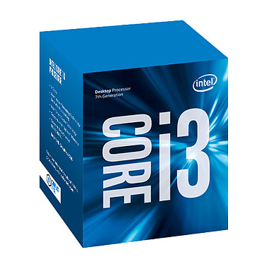 Intel Core i3-7100 (3.9 GHz) Processeur Dual Core Socket 1151 Cache L3 3 Mo Intel HD Graphics 630 0.014 micron (version boîte - garantie Intel 3 ans)