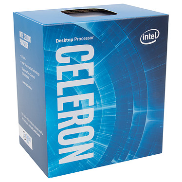 Intel Celeron G3930 (2.9 GHz) Processeur Dual Core Socket 1151 Cache L3 2 Mo Intel HD Graphics 610 0.014 micron (version boîte - garantie Intel 3 ans)