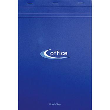 Bloc Office agrafé en-tête 21 x 29.7 cm quadrillé 5 x 5 100 feuilles