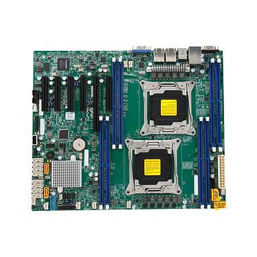 SuperMicro X10DRL-I-B Carte mère ATX Socket 2011-v3 - SATA 6Gb/s - USB 3.0 - 1 x PCI Express 3.0 16x - 3 x PCI Express 3.0 8x - 2 x Gigabit LAN (Version Bulk)