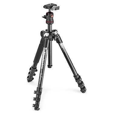Manfrotto Befree Color - MKBFRA4GY-BH Alu/Gris Kit trépied de voyage