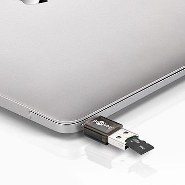 Avis Goobay Lecteur de cartes sur USB-C / USB 2.0