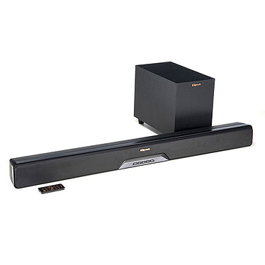 Klipsch RSB-8 Barre de son 2.1 Bluetooth, HDMI, multiroom Wi-Fi DTS Play-Fi avec caisson de basses sans fil
