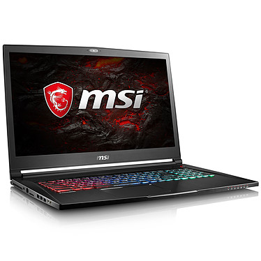 "MSI GS73VR 7RG-086FR Stealth Pro Intel Core i7-7700HQ 8 Go SSD 128 Go + HDD 1 To 17.3"" LED Full HD 120 Hz NVIDIA GeForce GTX 1070 8 Go Wi-Fi AC/Bluetooth Webcam Windows 10 Famille 64 bits (garantie constructeur 2 ans)"