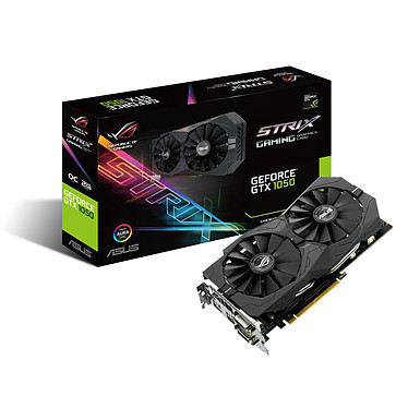 ASUS GeForce GTX 1050 - ROG STRIX-GTX1050-O2G-GAMING