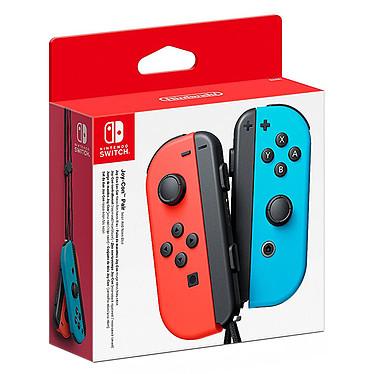 Nintendo Switch Joy-Con Droit & Gauche Rouge/Bleu Paire de manettes gauche (bleu) & droite (rouge)